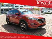 Options:  2016 Hyundai Tucson Limited|Orange/|V4 1.6 L