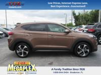 New Price! This ONE OWNER, 2016 Hyundai Tucson Limited
