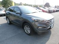 Ash Black 2016 Hyundai Tucson SE AWD 6-Speed Automatic
