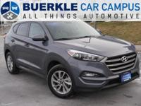 2016 Tucson SE. This redesigned Hyundai crossover is