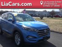 2016 Hyundai Tucson in Caribbean Blue, 1 Owner!, And