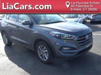 2016 Hyundai Tucson in Gray, Bluetooth Smart