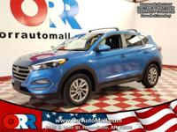 Blue 2016 Hyundai Tucson SE FWD 6-Speed Automatic with