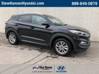 Certified. Ash Black 2016 Hyundai Tucson SE w/Popular