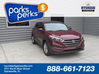 Ruby 2016 Hyundai Tucson SE FWD 6-Speed Automatic with