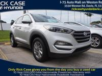 2016 Hyundai Tucson SE in Silver. What a fantastic