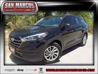 Options:  2016 Hyundai Tucson Se|Black/|V4 2.0 L