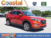 This 2016 Hyundai Tucson SE in Sunset features: FWD