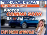 Active Warranty, Clean Accident History, 1-Owner. Todd