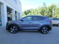 Redesigned for 2016, our Hyundai Tucson Sport in