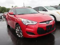 Red 2016 Hyundai Veloster FWD 6-Speed Manual 1.6L I4