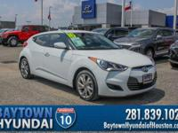 2016 Hyundai Veloster Clean CARFAX. CARFAX One-Owner.