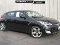 2016 Hyundai Veloster Ultra Black 6-Speed EcoShift Dual
