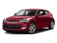 Options:  2016 Hyundai Veloster|Ultra Black/|V4 1.6 L