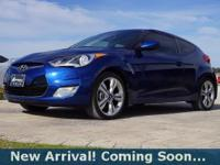 2016 Hyundai Veloster 3 Door Hatchback in Pacific Blue,