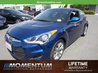 Options:  2016 Hyundai Veloster Base|Pacific