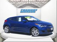 Options:  2016 Hyundai Veloster Veloster|Blue|1.6L 4