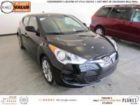 Ultra Black 2016 Hyundai Veloster 6-Speed EcoShift Dual