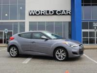 Veloster trim. FUEL EFFICIENT 36 MPG Hwy/28 MPG City!