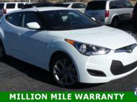 2016 Hyundai Veloster.  1 owner local trade in