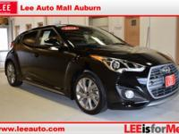 2016 Hyundai Veloster Turbo Black Bluetooth, Hands free