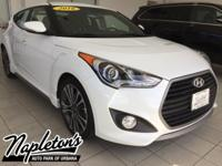 New Price! 2016 Hyundai Veloster in White, Bluetooth,