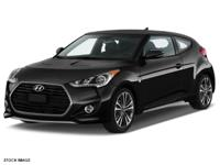 Recent Arrival! 2016 Hyundai Veloster Turbo Black The