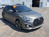 2016 Hyundai Veloster Turbo. Serving the Greencastle,