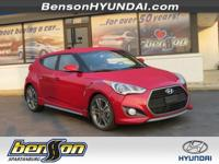 Veloster Turbo and Red. All aboard! Judicious with