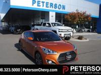 Our top-of-the-line 2016 Hyundai Veloster Turbo in