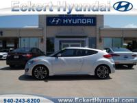 2016 Veloster Turbo M/T in Ironman Silver with Black