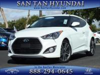 New Arrival! This Hyundai Veloster is Certified