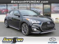 Veloster Turbo, FWD, and Ultra Black. Talk about fun! A