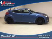 One Owner | Accident Free | 2016 Hyundai Veloster Turbo