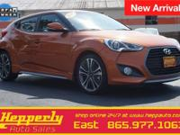 CARFAX One-Owner. This 2016 Hyundai Veloster Turbo in