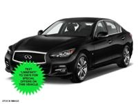 2016 INFINITI Q50. This superb INFINITI is one of the
