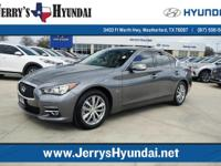 Check out this gently-used 2016 INFINITI Q50 we