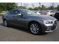 2016 INFINITI Q50 Premium with Drivers Assist.  Cal to