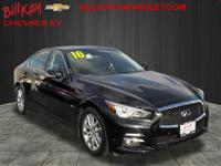 New Price! CARFAX One-Owner. Malbec Black 2016 INFINITI