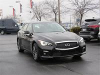 2016 INFINITI Q50 Red Sport 400! Certified. All-Wheel