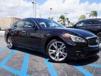 New Price! Certified. 2016 INFINITI Q70 Premium Black