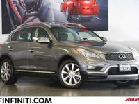 Options:  2016 Infiniti Qx50 4D Sport