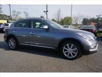 2016 INFINITI QX50. INFINITI Certified Pre-Owned means