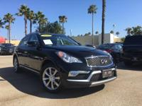 Options:  2016 Infiniti Qx50 Base|Black|6