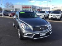 CARFAX One-Owner. Graphite Shadow 2016 INFINITI QX50