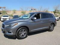 Options:  2016 Infiniti Qx60 Base|Gray|New Price!