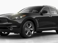 QX70 trim. Heated Leather Seats, Sunroof, Satellite