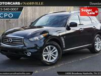 This 2016 INFINITI QX70 4dr AWD 4dr features a 3.7L V6