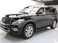 This awesome 2016 Infiniti QX80 comes loaded with the