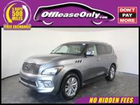 Options:  2016 Infiniti Qx80 Awd|Graphite Shadow/Saddle